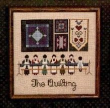"Схема ""The Quilting//Квилтинг"" Told In The Garden"